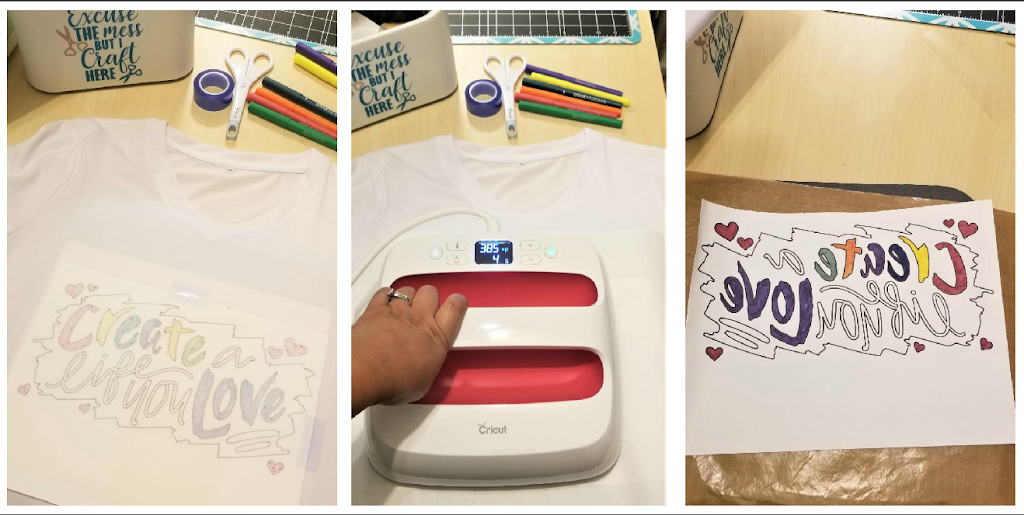 Cricut EasyPress 2 with Infusible Inks