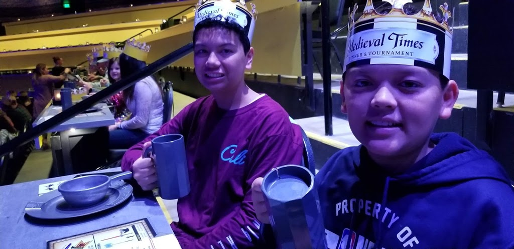 Cheers! Medieval Times fun family entertainment