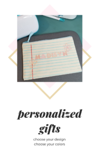 personalized gifts with Cricut Joy